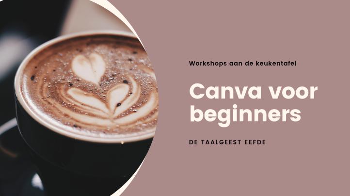Workshop canva voor beginners